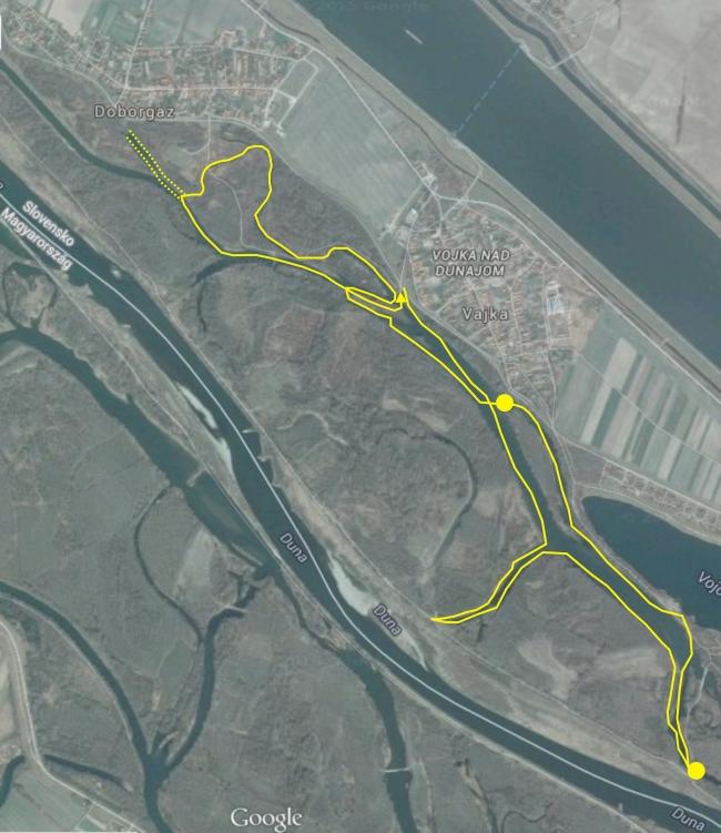 vyznačené trasy