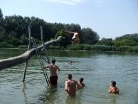 umelecký skok do vody