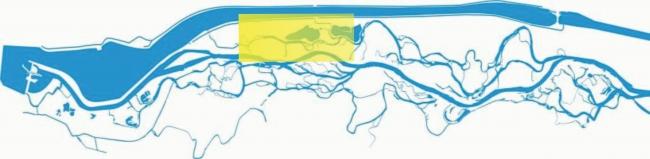 oblasť kde sa splavuje